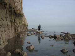 Rock Climbing Photo: Where did all this water come from?  LPT after the...