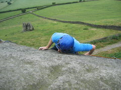 Rock Climbing Photo: Where are the finishing holds??