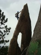 Rock Climbing Photo: gossamer