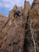 Rock Climbing Photo: boxcars & airplanes
