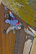 Rock Climbing Photo: Final piece of the puzzle...Trask on DD.    Photo ...