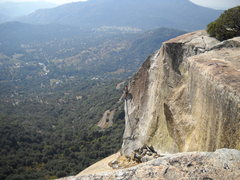 Rock Climbing Photo: Platinum Plus , Cap Rocks , Tollhouse . The route ...