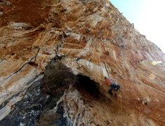 "Rock Climbing Photo: Thug-a-licious. Matt Nance crawls out of ""the..."