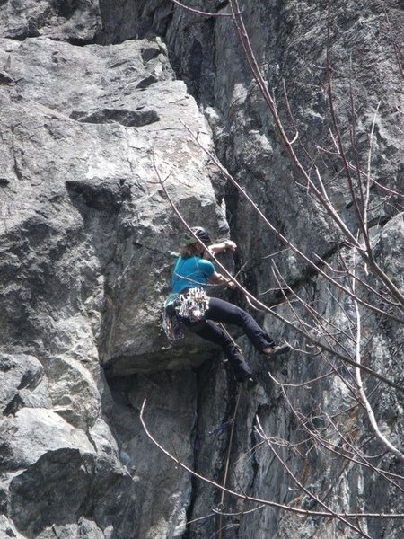 Rock Climbing Photo: In quebec  montagne du tranchant