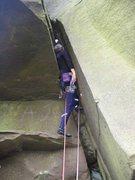 Rock Climbing Photo: The start of Delilah