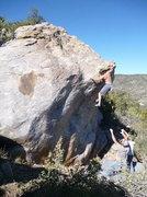 Rock Climbing Photo: woman ate the fish