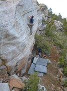 Rock Climbing Photo: selfish prick