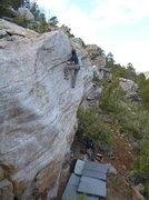 Rock Climbing Photo: selfish prick #2
