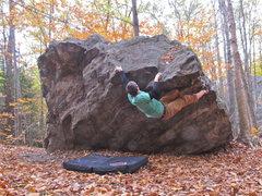 Rock Climbing Photo: self portrait.