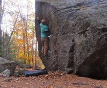 Rock Climbing Photo: Balance is the key!