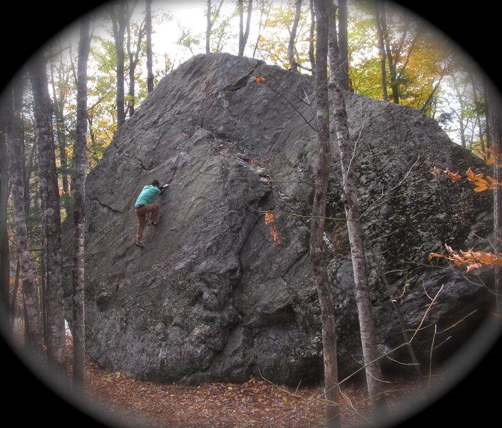 Rock Climbing Photo: mega classic highball