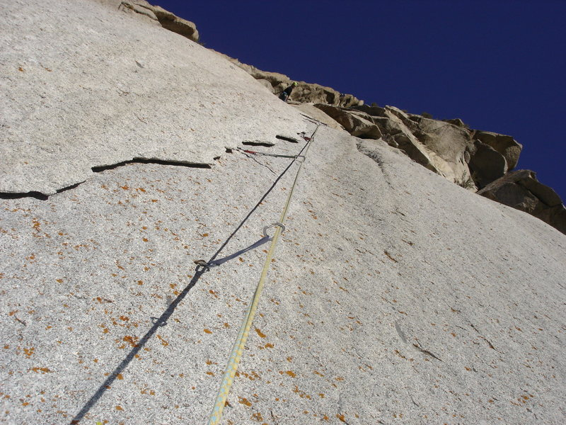Rock Climbing Photo: Pitch 3 - The Curtain!