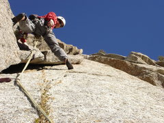 Rock Climbing Photo: Start of P4...