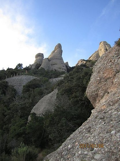 Similar rock in Maple Canyon, UT