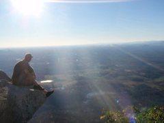 Rock Climbing Photo: Top of Mt.Yonah
