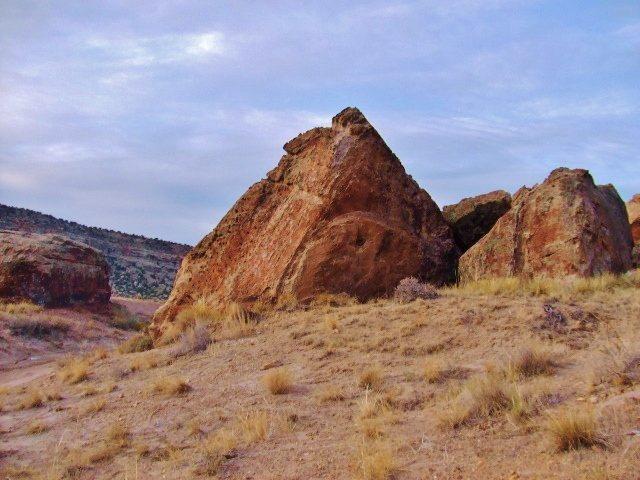 Rock Climbing Photo: Vogue Boulder.