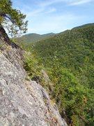 Rock Climbing Photo: From the wild summit.