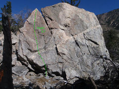 Rock Climbing Photo: TK421 Topo