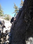 Rock Climbing Photo: Amanda on Kawabatake