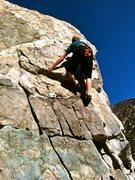 Rock Climbing Photo: Taco on Salacious Crumb