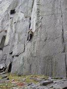 Rock Climbing Photo: The start of Horse Latitudes (photo by Phil Ashton...