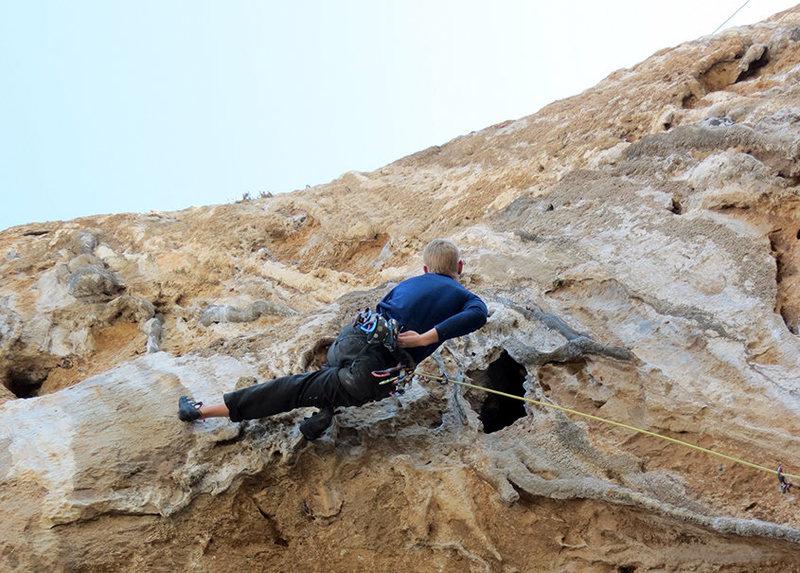 Rock Climbing Photo: Nance-tastic!