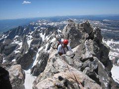 Rock Climbing Photo: Danny Burres-Grand Teton