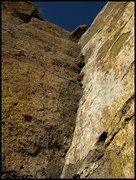 """Rock Climbing Photo: Looking up """"Cooking With Crash"""". Photo b..."""