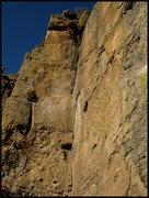 "Rock Climbing Photo: ""Elf Jism Dihedral"".  Photo by Blitzo."