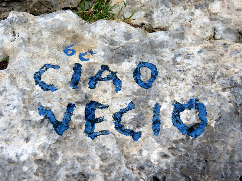 "Rock Climbing Photo: Originally, Ciao was lavished with a ""6c+ (11..."