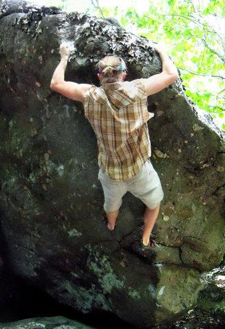 Rock Climbing Photo: trav on kodo