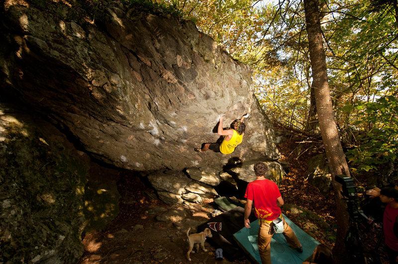 Rock Climbing Photo: Steve Lovelace on Locksmith