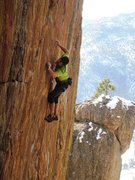 "Rock Climbing Photo: Moving past the ""razor crimp""."
