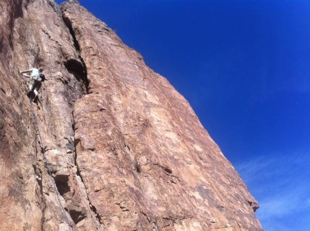 Rock Climbing Photo: AC starting P1
