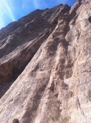 Rock Climbing Photo: AC looking for the origin