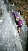 Rock Climbing Photo: Porter Jarrad on FA of Organized Confusion early 1...