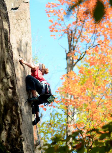Rock Climbing Photo: get ready