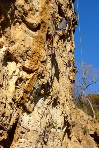 Rock Climbing Photo: Hawaiian Bill 5.12b