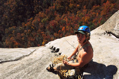 Rock Climbing Photo: On Groover at Laurel Knob