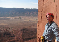 Rock Climbing Photo: At the first pitch belay of the Kor-Ingalls Route....