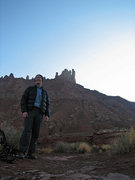 Rock Climbing Photo: On the approach to Sister Superior and Jah Man.  O...