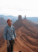Rock Climbing Photo: On the summit of Sister Superior.  October 29, 201...