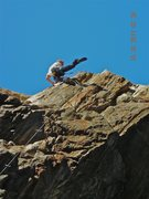 Rock Climbing Photo: Worked this today first time up, then watched Darr...