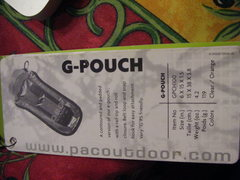 Rock Climbing Photo: G Pouch Tag