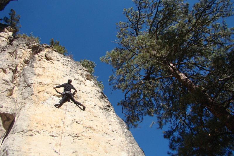 Rock Climbing Photo: EBM.