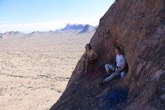 Rock Climbing Photo: P3 Belay