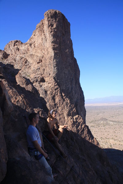 Rock Climbing Photo: P4 belay