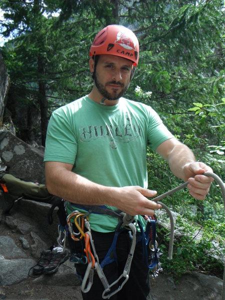 pre climb