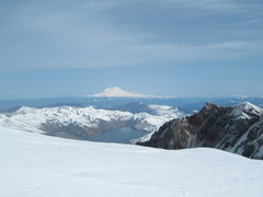 Rock Climbing Photo: Rainier to the North