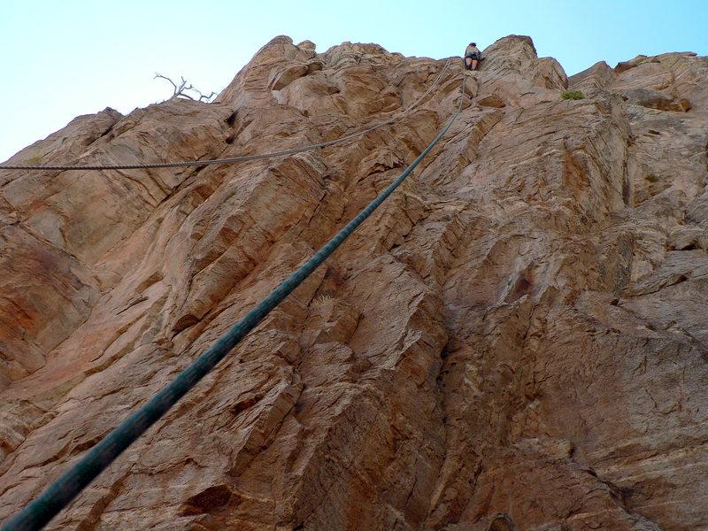 Rock Climbing Photo: Agatha Christi, my first climb